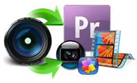 Convert MXF to editing software, such as FCP X, iMovie, Premiere Pro, FCE, Avid