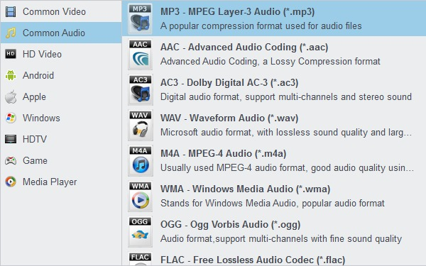 iTunes music to MP3