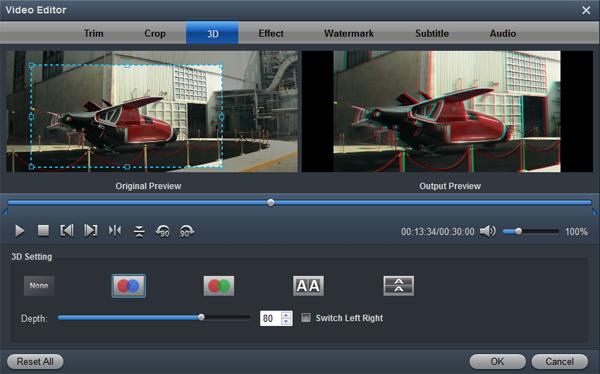 Galaxy Tab S video converter edit