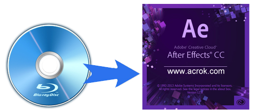 Import and edit Blu-ray in After Effects CC