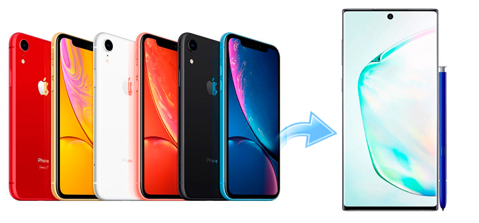 How to Migrate Songs from old iPhone to Galaxy Note 10