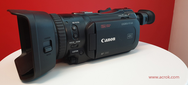 Edit Canon VIXIA HF G60 4K MP4 in FCP X/Premiere Pro CC